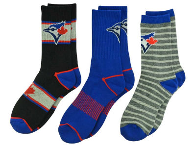 3-pack MLB Youth Half Terry Sport Socks