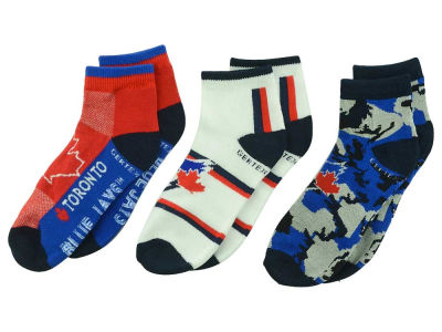 Toronto Blue Jays 3-pack Youth Quarter Socks