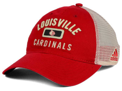 Louisville Cardinals adidas 2016 NCAA Eyes Up Meshback Adjustable Cap
