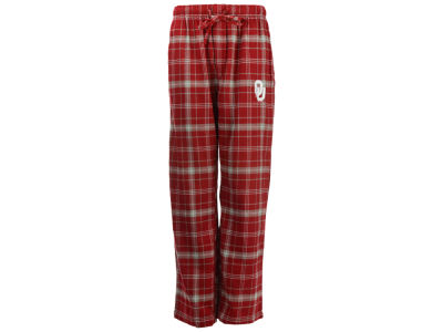 Oklahoma Sooners Concept Sports NCAA Men's Ultimate Plaid Flannel Pants