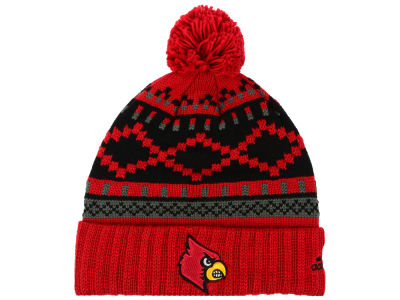 Louisville Cardinals adidas NCAA Pattern Pom Knit