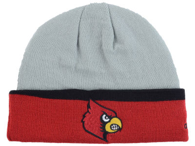 Louisville Cardinals adidas NCAA Gray Dome Cuff Knit