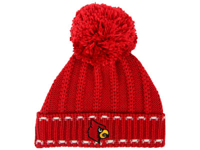 Louisville Cardinals adidas NCAA Women's Cable Pom Knit