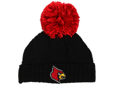 Louisville Cardinals adidas Women's 2016 Big Pom Knit
