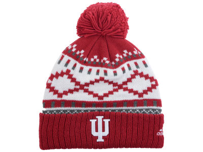 Indiana Hoosiers adidas NCAA Pattern Pom Knit