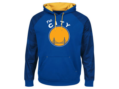 Golden State Warriors Majestic NBA Men's Armor II Hoodie