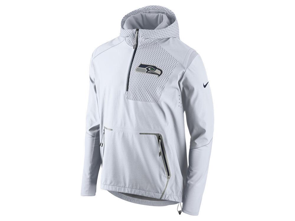 9ac06d699 Seattle Seahawks Nike NFL Men s Vapor Speed Fly Rush Flash Jacket ...