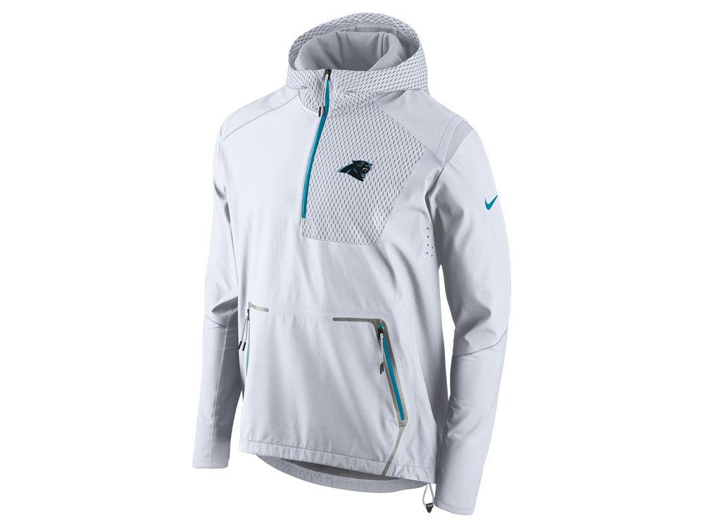 9f32d7726d9 Carolina Panthers Nike NFL Men s Vapor Speed Fly Rush Flash Jacket ...