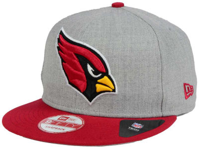 Arizona Cardinals New Era NFL Heather Grand 9FIFTY Snapback Cap