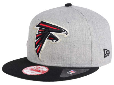 Atlanta Falcons New Era NFL Heather Grand 9FIFTY Snapback Cap