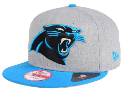 Carolina Panthers New Era NFL Heather Grand 9FIFTY Snapback Cap