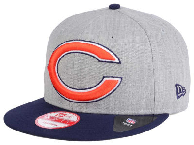 Chicago Bears New Era NFL Heather Grand 9FIFTY Snapback Cap