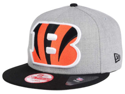 Cincinnati Bengals New Era NFL Heather Grand 9FIFTY Snapback Cap
