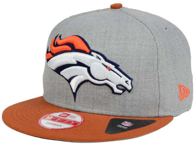 Denver Broncos New Era NFL Heather Grand 9FIFTY Snapback Cap