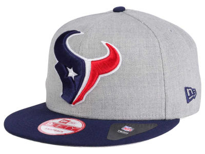 Houston Texans New Era NFL Heather Grand 9FIFTY Snapback Cap