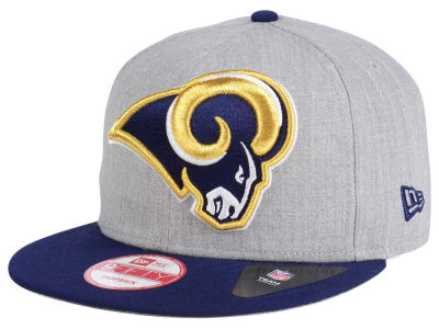 Los Angeles Rams New Era NFL Heather Grand 9FIFTY Snapback Cap