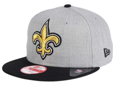 New Orleans Saints New Era NFL Heather Grand 9FIFTY Snapback Cap