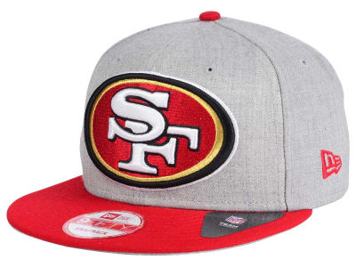 San Francisco 49ers New Era NFL Heather Grand 9FIFTY Snapback Cap
