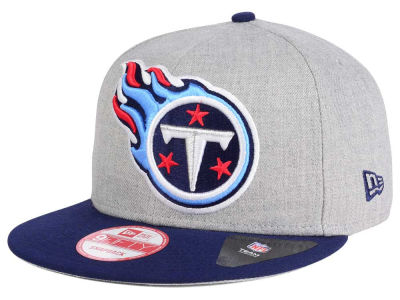 Tennessee Titans New Era NFL Heather Grand 9FIFTY Snapback Cap