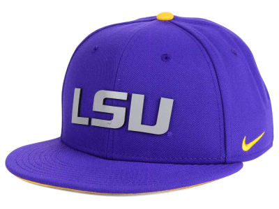 LSU Tigers Nike NCAA True Reflective Snapback Cap
