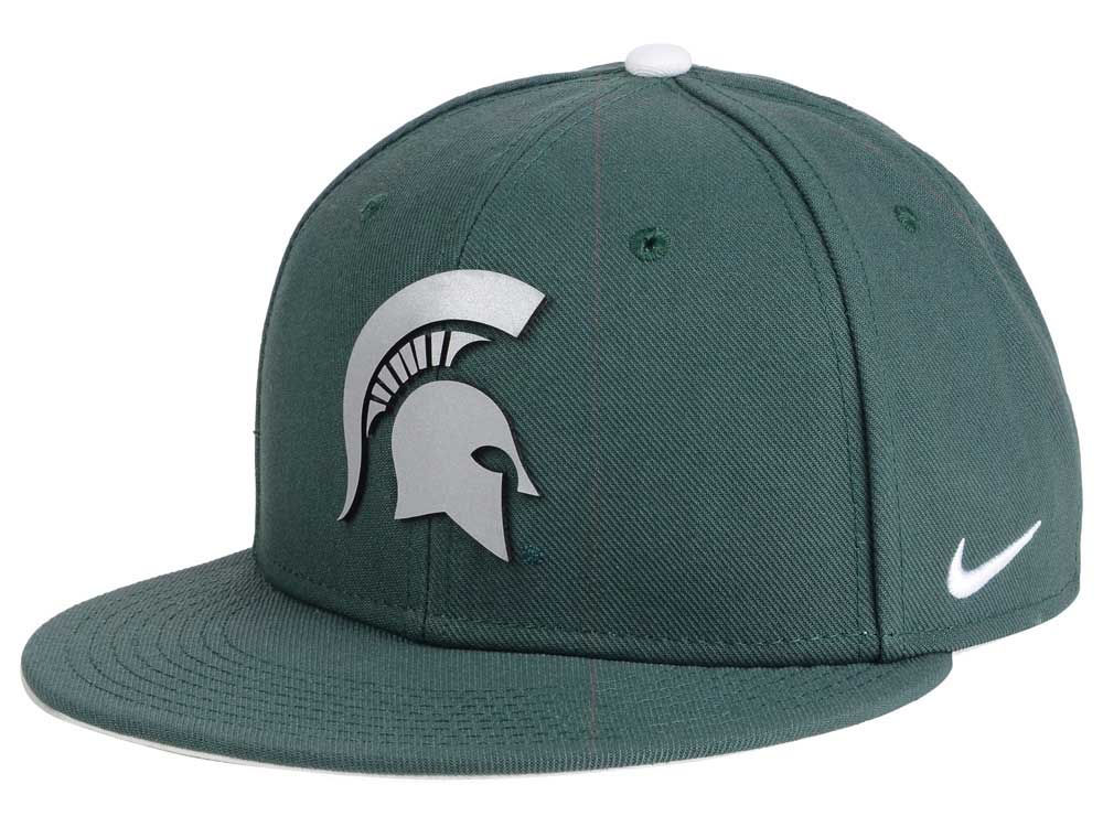 info for ed747 9d46c ... low cost michigan state spartans nike ncaa true reflective snapback cap  lids c08dd ad8ef