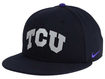 Texas Christian Horned Frogs Nike NCAA True Reflective Snapback Cap