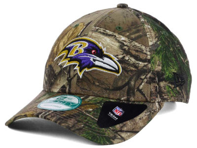 Baltimore Ravens New Era NFL The League Realtree 9FORTY Cap