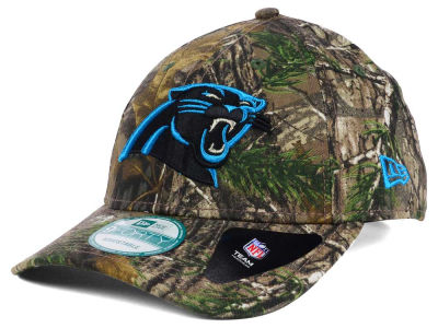 Carolina Panthers New Era NFL The League Realtree 9FORTY Cap