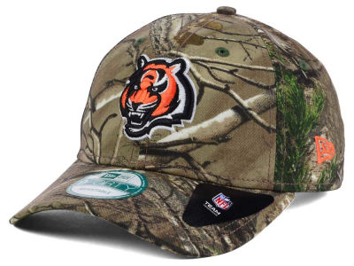 Cincinnati Bengals New Era NFL The League Realtree 9FORTY Cap