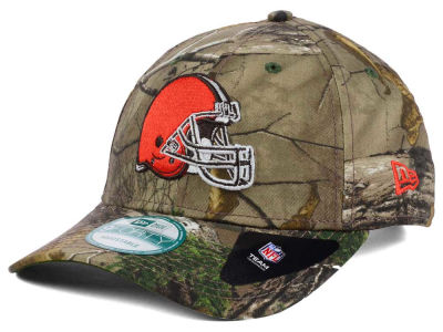 Cleveland Browns New Era NFL The League Realtree 9FORTY Cap