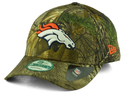 Denver Broncos New Era NFL The League Realtree 9FORTY Cap