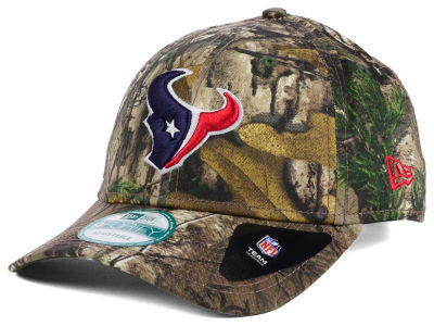 Houston Texans New Era NFL The League Realtree 9FORTY Cap