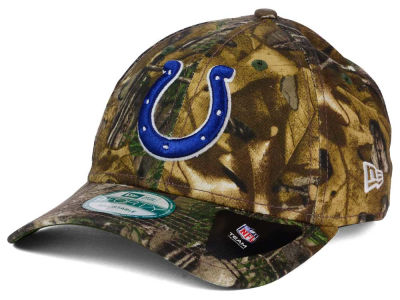 Indianapolis Colts New Era NFL The League Realtree 9FORTY Cap