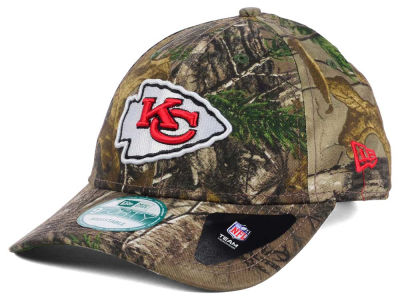 Kansas City Chiefs New Era NFL The League Realtree 9FORTY Cap
