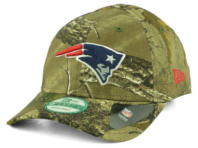 New England Patriots New Era NFL The League Realtree 9FORTY Cap