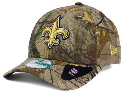 New Orleans Saints New Era NFL The League Realtree 9FORTY Cap