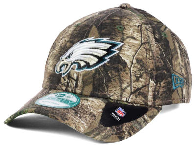 Philadelphia Eagles New Era NFL The League Realtree 9FORTY Cap