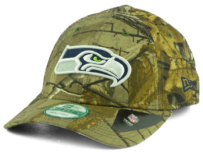 Seattle Seahawks New Era NFL The League Realtree 9FORTY Cap