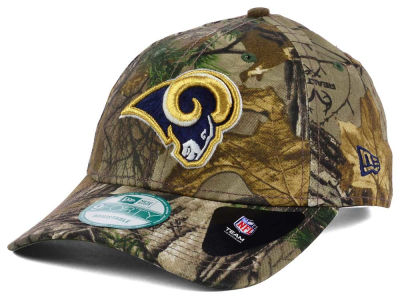 Los Angeles Rams New Era NFL The League Realtree 9FORTY Cap