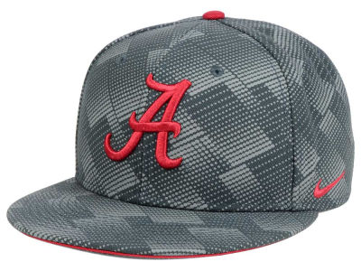 Alabama Crimson Tide Nike NCAA Anthracite Snapback Cap