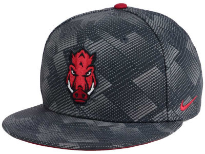 Arkansas Razorbacks Nike NCAA Anthracite Snapback Cap