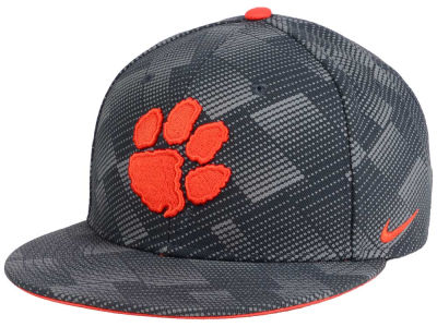 Clemson Tigers Nike NCAA Anthracite Snapback Cap