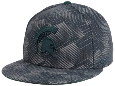 Michigan State Spartans Nike NCAA Anthracite Snapback Cap