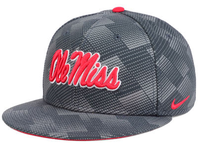 Ole Miss Rebels Nike NCAA Anthracite Snapback Cap