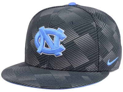 North Carolina Tar Heels Nike NCAA Anthracite Snapback Cap