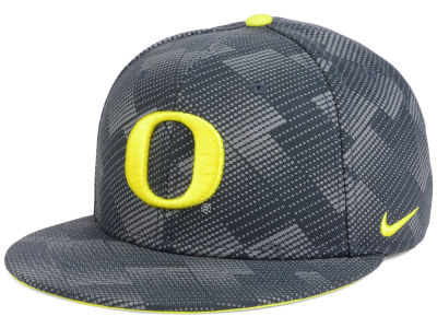 Oregon Ducks Nike NCAA Anthracite Snapback Cap
