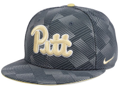 Pittsburgh Panthers Nike NCAA Anthracite Snapback Cap