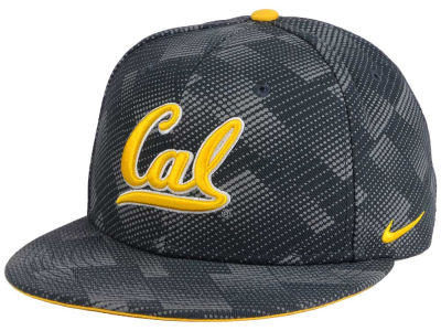 California Golden Bears Nike NCAA Anthracite Snapback Cap