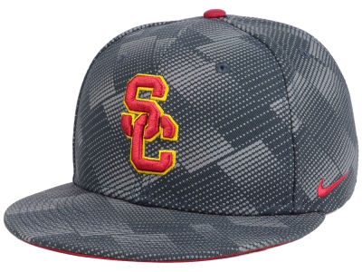 USC Trojans Nike NCAA Anthracite Snapback Cap