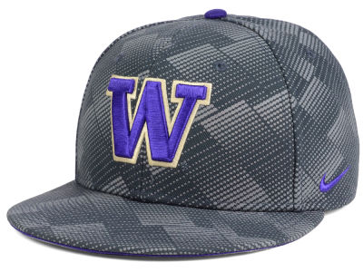 Washington Huskies Nike NCAA Anthracite Snapback Cap